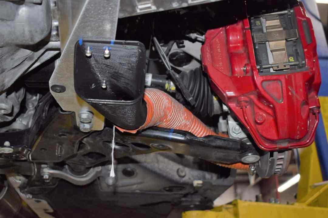 AAF E46 Brake Cooling Duct Kit (non M)