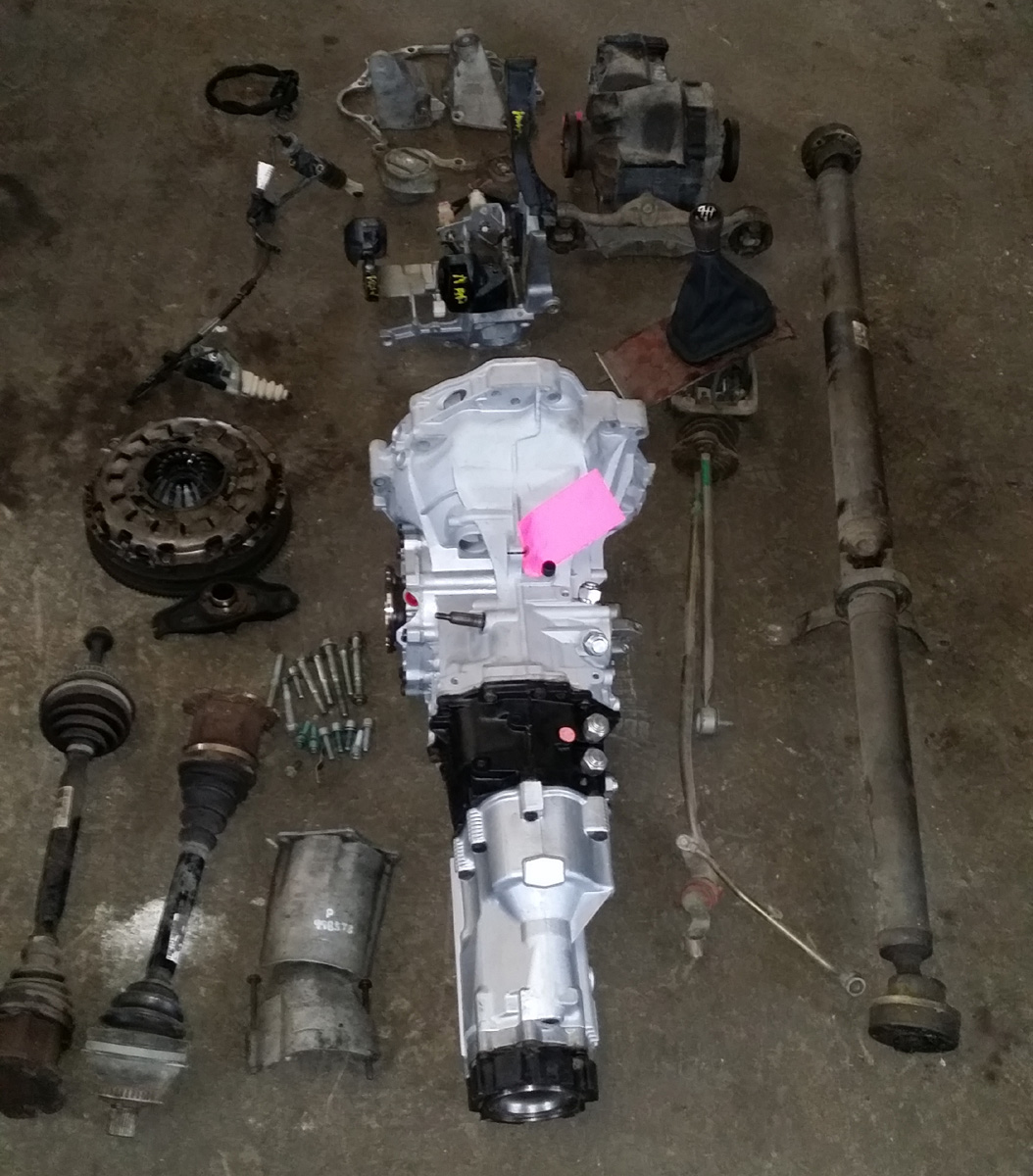 hight resolution of audi b5 s4 a4 6 speed economy transmission conversion swap