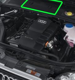 location of the battery for audi a4 petrol cars [ 1280 x 781 Pixel ]