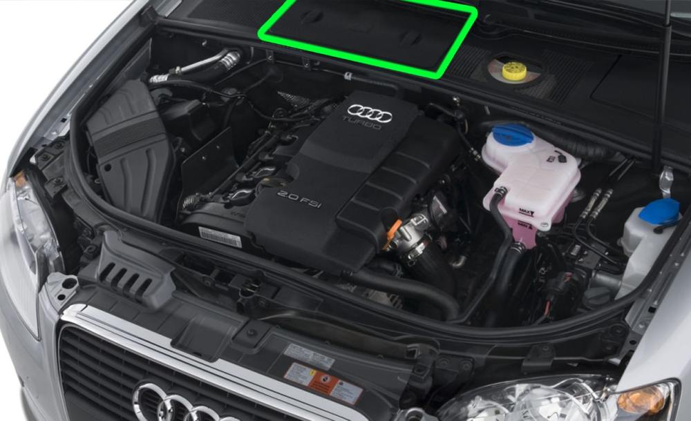 medium resolution of location of the battery for audi a4 petrol cars