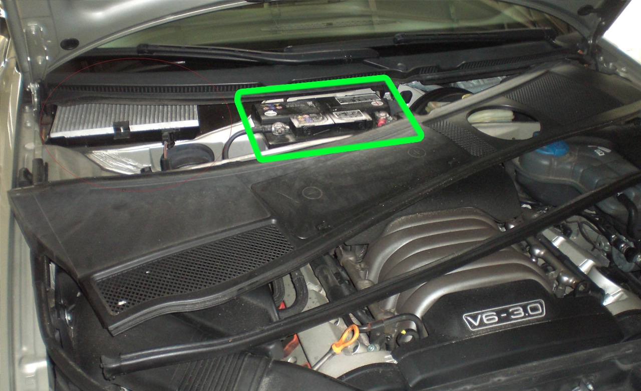 hight resolution of audi a6 car battery location