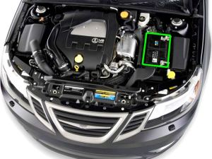 SAAB 93 Car Battery Location | ABS Batteries