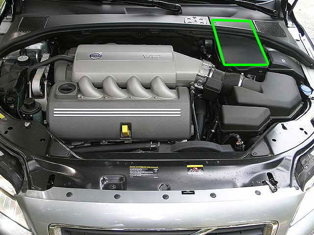 2001 Volvo S80 Battery Location