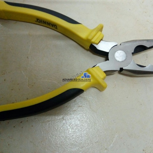 Dannio Combination Pliers - Black & Yellow