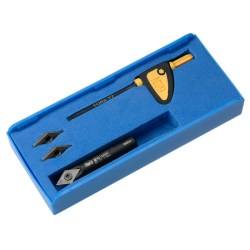 Indexable carbide insert - engraving kit