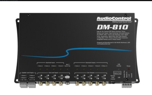 AUDIO CONTROL DM-810