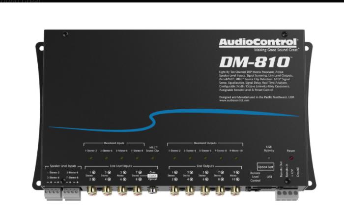 AUDIO CONTROL DM-810