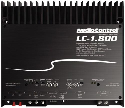 AUDIO CONTROL LC-1.800