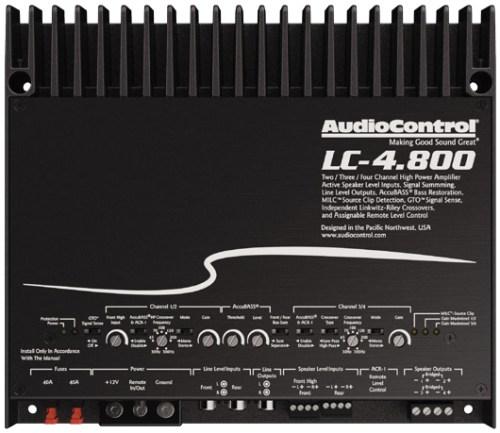 AUDIO CONTROL LC-4.800