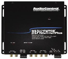 AUDIO CONTROL THE EPICENTER PLUS