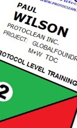 Badge Copy Advanced Cleanroom Microclean