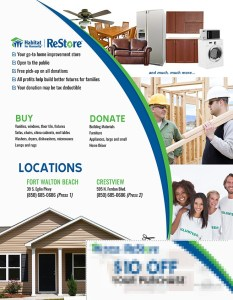 Habitat for Humanity - ReStore | Marketing Flyer