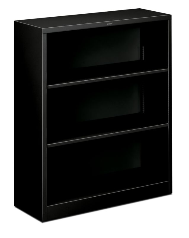 "HON Brigade Steel Bookcase | 3 Shelves | 34-1/2""W 
