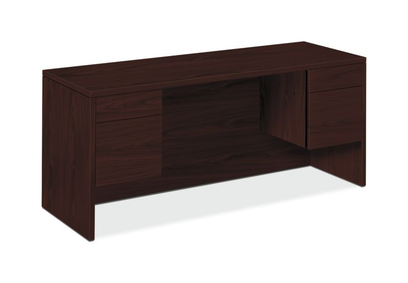 "HON 10500 Series Credenza with Kneespace | 2 Box / 2 File Drawers | 60""W 
