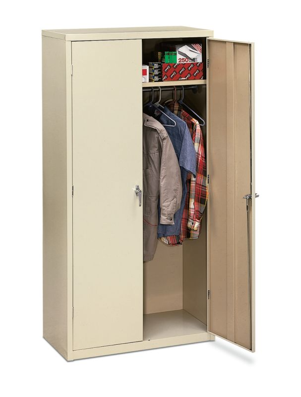 "HON Brigade Storage Cabinet | 5 Adjustable Shelves | 18-1/8""D x 72""H 