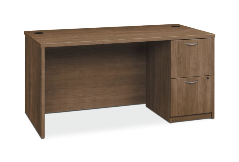 HON Foundation Single Pedestal Desk