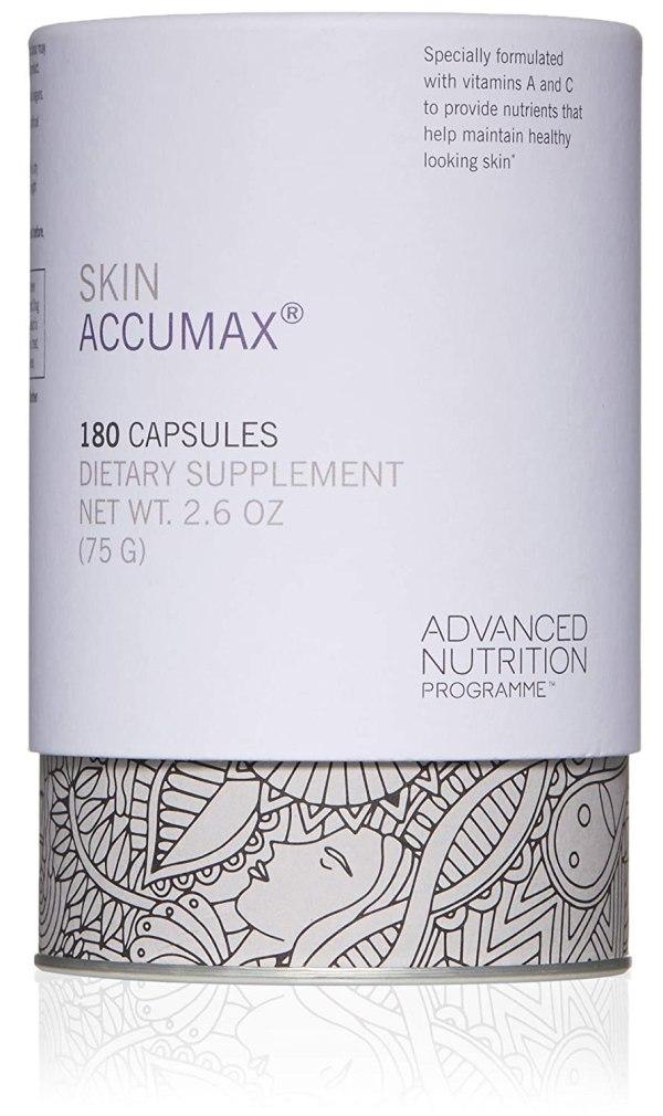 Skin Accumax 180 capsules Advanced Laser Light Cork