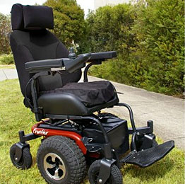all terrain electric wheelchair game fishing chair harness x5 frontier power wheelchairs vancouver motorized