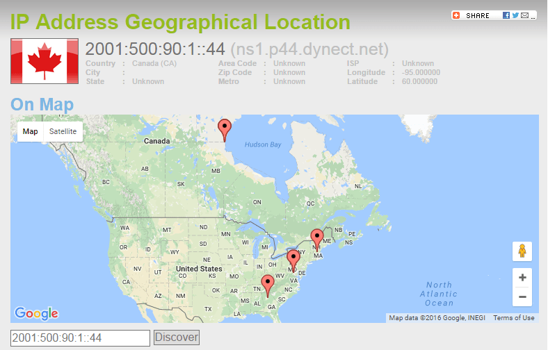 Pornhub.com Geolocation based on IP