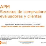 Secretos de evaluadores, compradores y clientes Advanced Performance Management