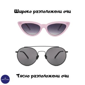 Очила за близко и далече разположени очи