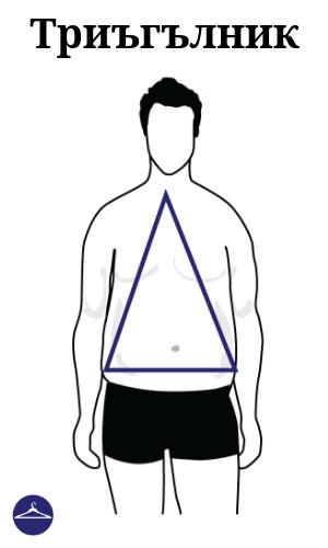Мъжки силует Триъгълник