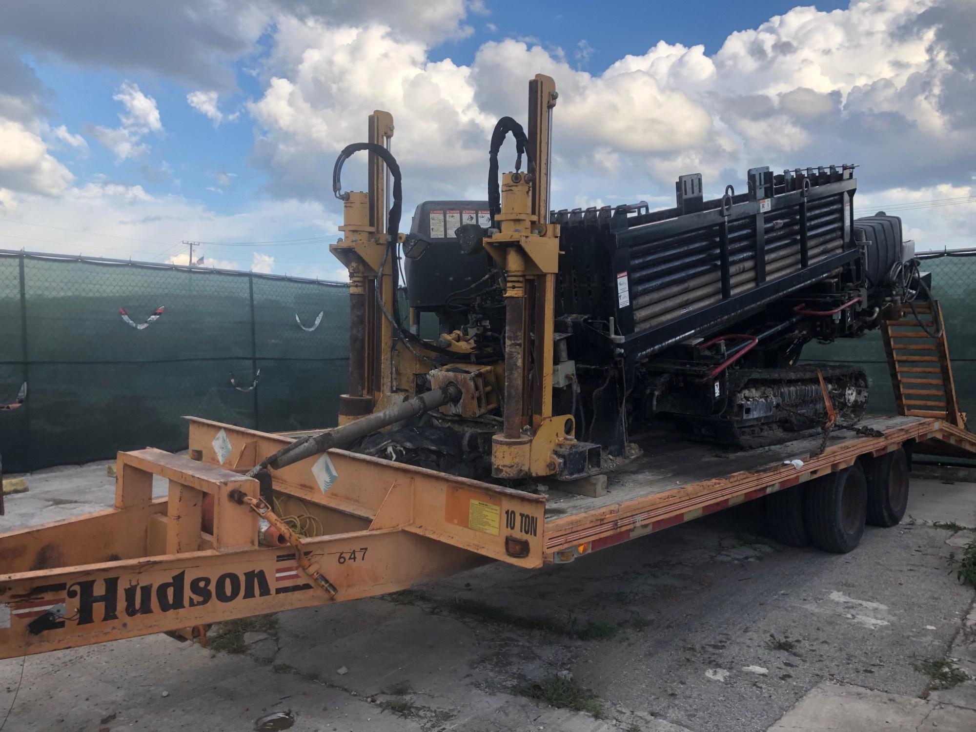 hight resolution of hudson dual axle wheel 10 ton equipment deck over trailer