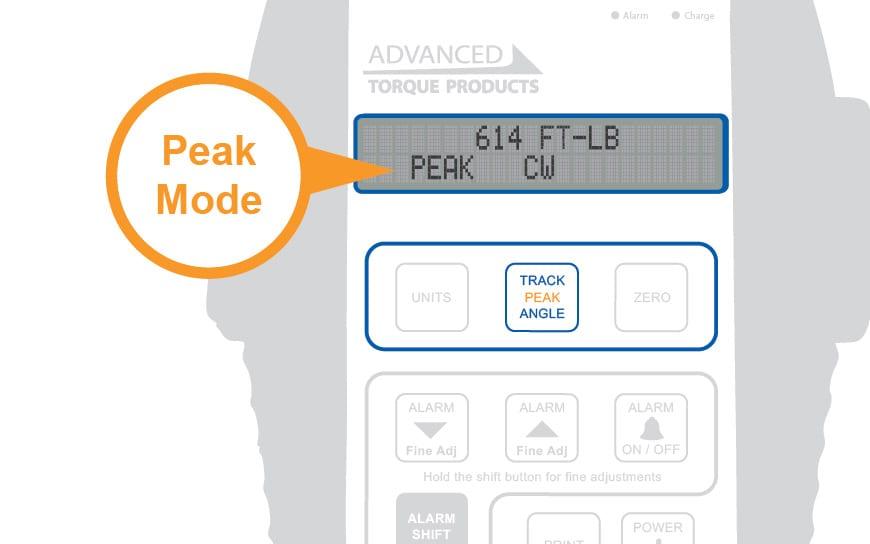 Peak Mode Callout