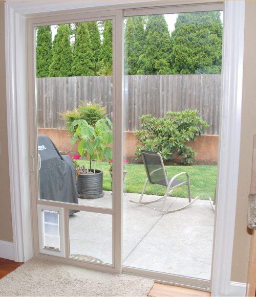 small resolution of dog door best dog door for sliding glass door utah advanced windows usa