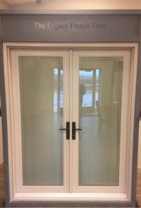 French Doors with Blinds in Utah - Advanced Window Products