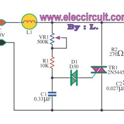 Time Delay Relay Circuit Diagram Photocell Wiring Pdf Rangkaian Dimmer Lamp | Advancefabregas