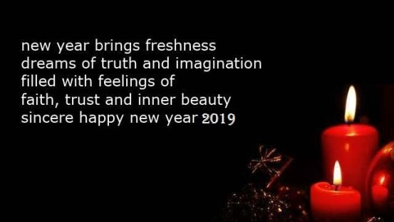 Happy New Year Poetry