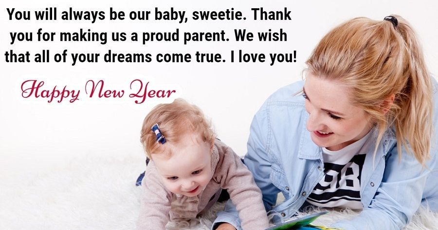 Happy New Year 2019 Wishes For Daughter And Son