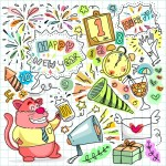 New Happy Year Clip Art