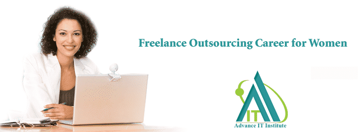 Freelance Outsourcing Career for Women