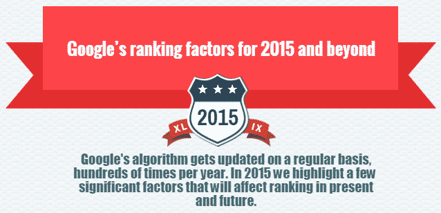 Google Effective SEO Ranking Factors 2016