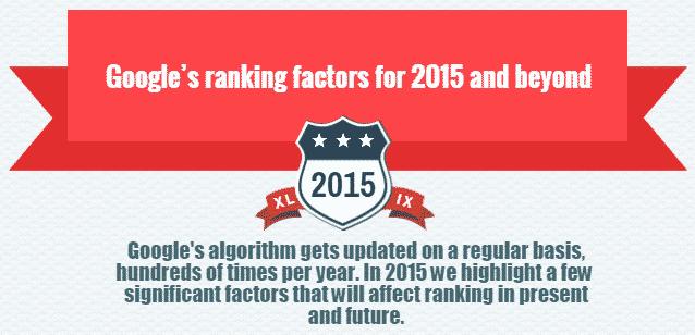 Google Effective SEO Ranking Factors 2016