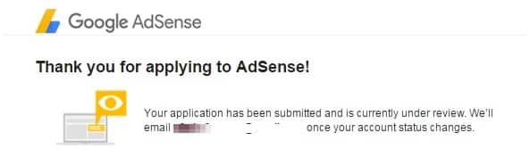 How To Apply For Google Adsense-6th step