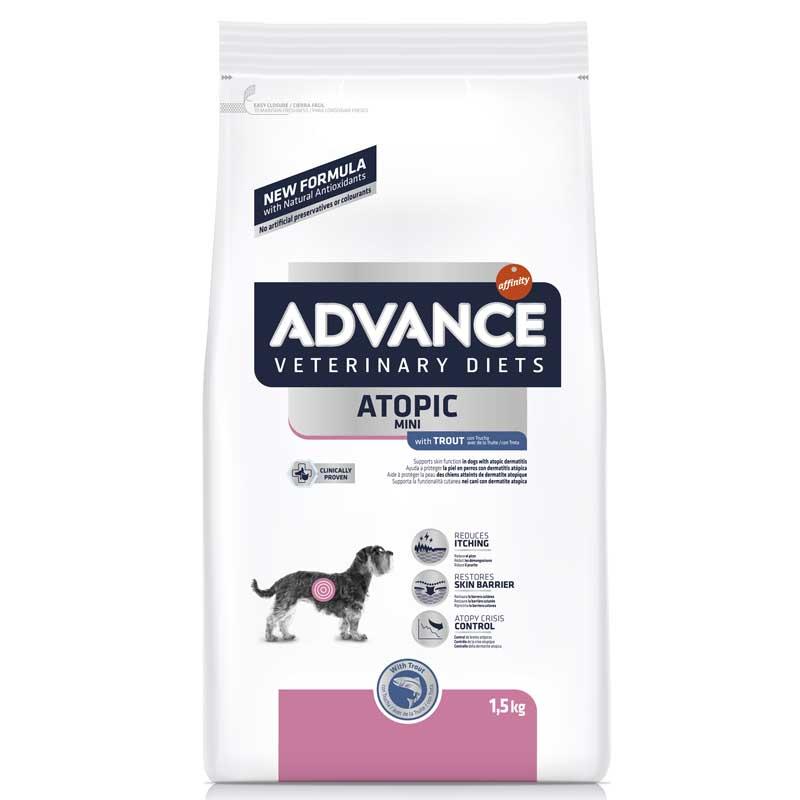 ADVANCE處方狗糧 - 皮膚專用(適合體重1-10kg小型犬種) 1.5KG - ADVANCE
