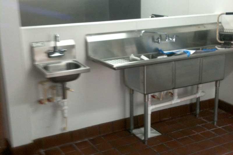 kitchen - plumber