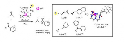 Asymmetric aldol reactions between acetone and