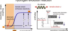 Mechanical modulation of reaction rates in electrocatalysis