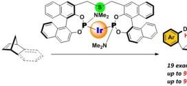 Cationic Iridium S-Me-BIPAM-Catalyzed Direct Asymmetric Intermolecular Hydroarylation of Bicycloalkenes. Advances In Engineering