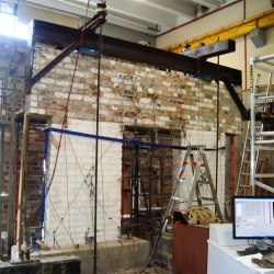 In-plane and out-of-plane testing of unreinforced masonry walls strengthened using polymer textile reinforced mortar. Advances in Engineering