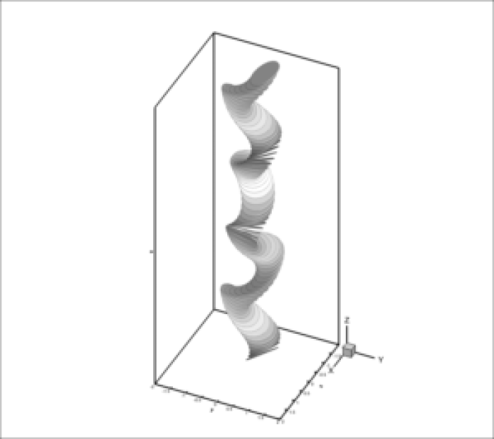 spiral_gray1 - An immersed boundary-lattice Boltzmann flux solver in a moving frame to study three-dimensional (3D LBFS) freely falling rigid bodies - Advances in engineering