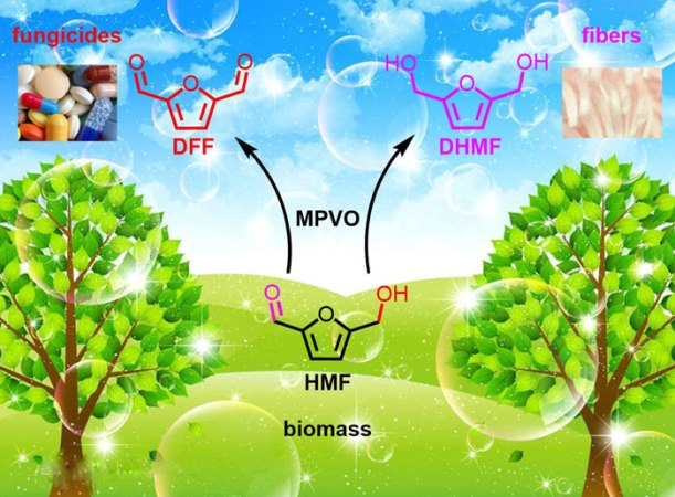 Direct Transformation of HMF into 2,5-Diformylfuran and 2,5-Dihydroxymethylfuran without an External Oxidant or Reductant- Advances in Engineering