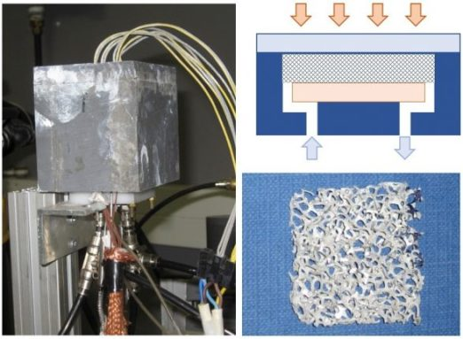 A cooler for dense-array CPV receivers based on metal foam. Advances in Engineering