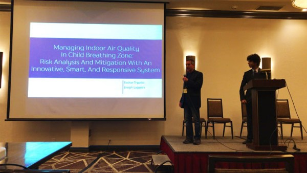 Improving air quality in the child breathing zone. Advances in Engineering