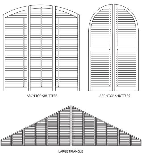 Toronto Window Shutters, Interior Shutters, Exterior