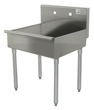 advance tabco standing style mop sinks